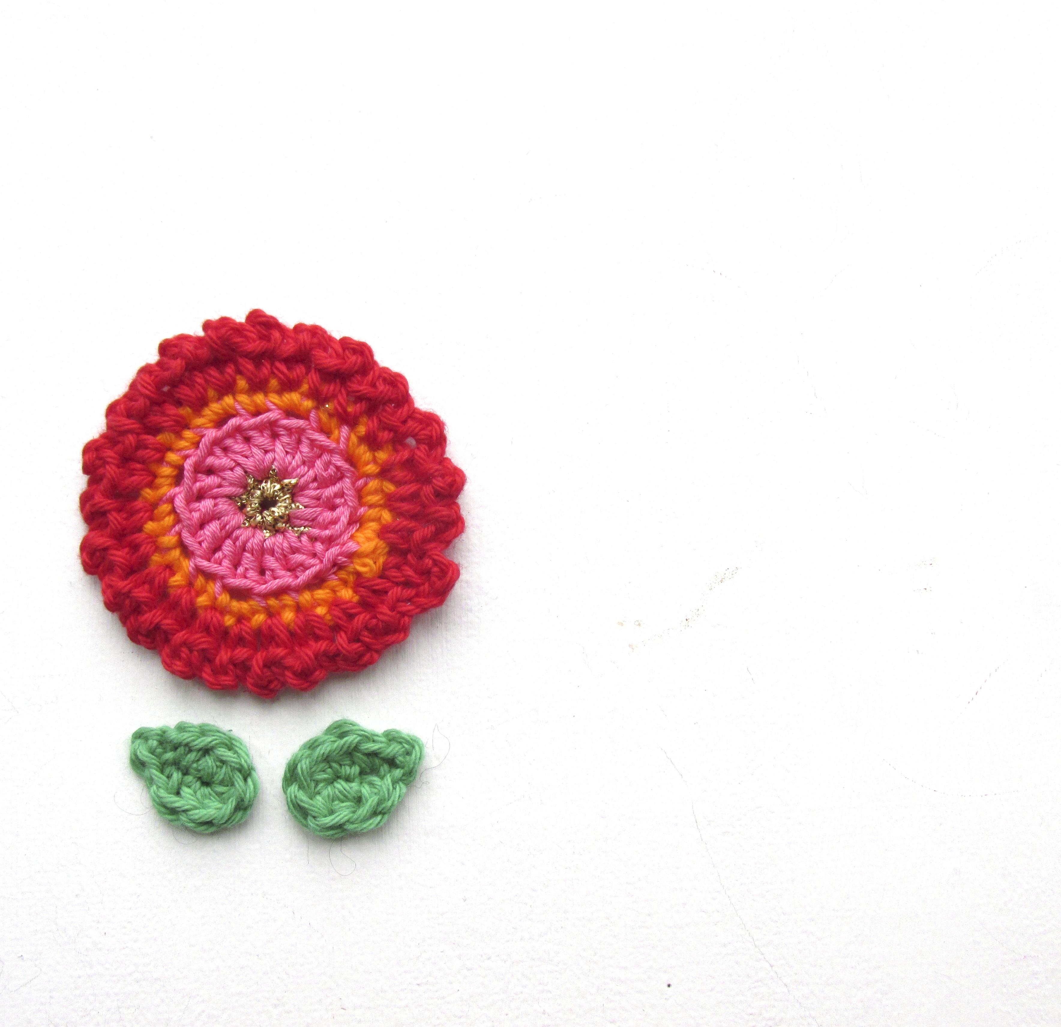 flower crochet boho
