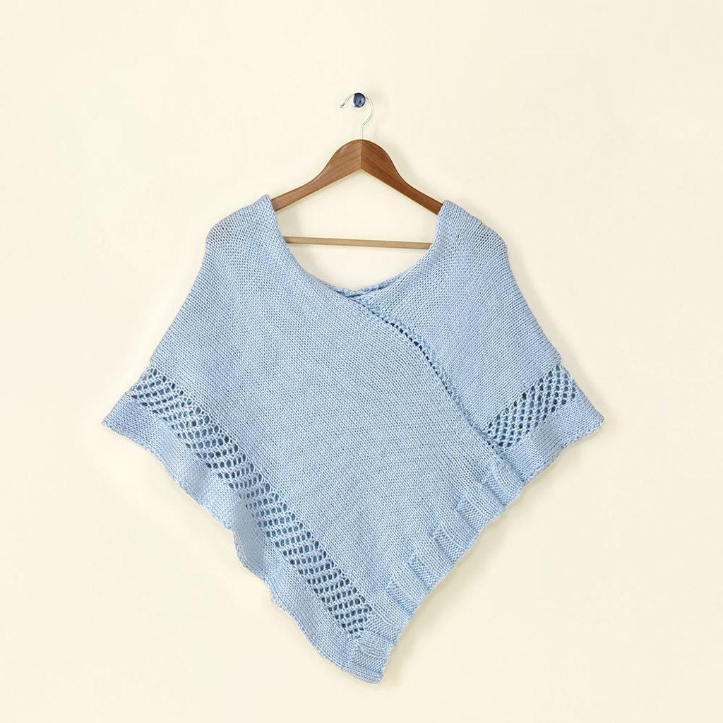 Trinity knit poncho