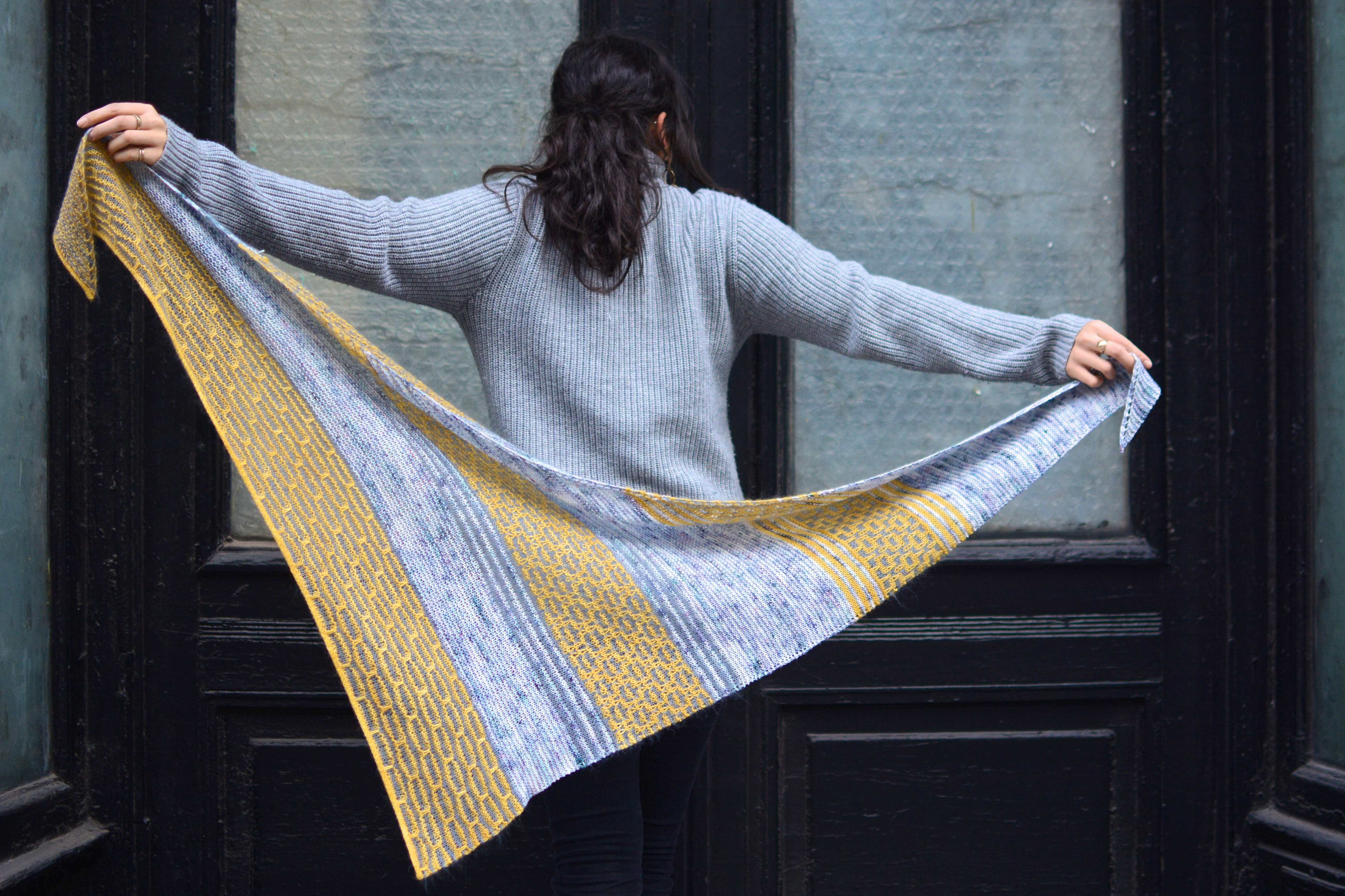 Manhattan mist shawl