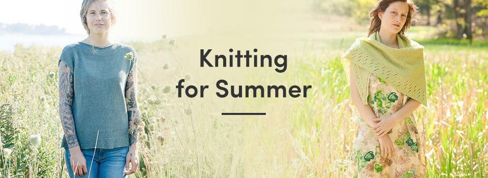 Knitting for Summer