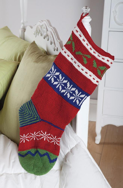 Malcolm's Christmas stocking by Mary Gildersleeve