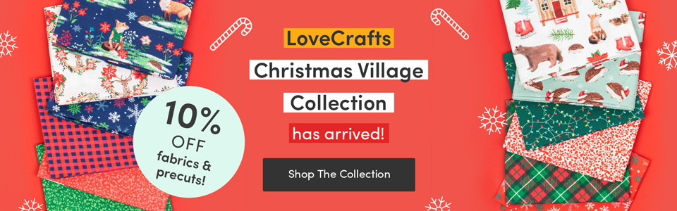 LoveCrafts Christmas Village is here!