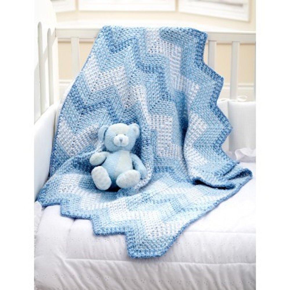 10 Bernat crochet baby blankets | LoveCrochet