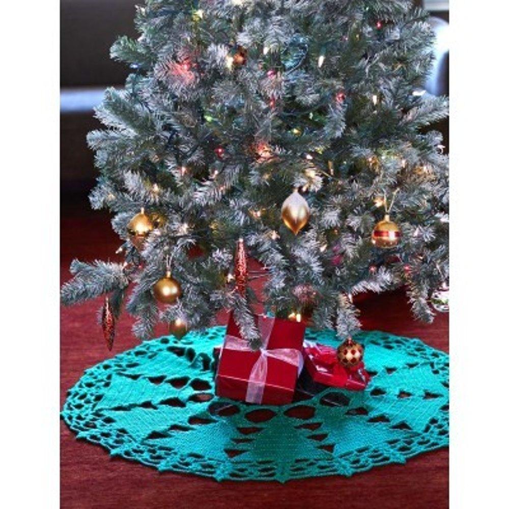 10 Christmas Tree Skirts Lovecrochet