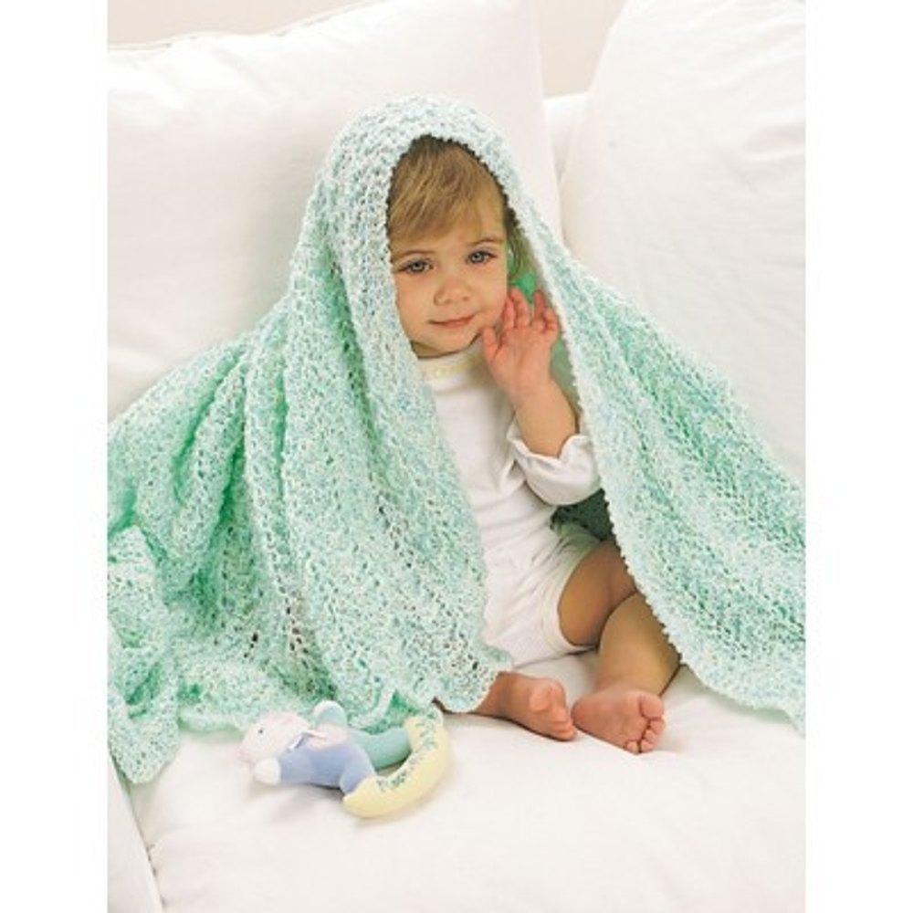 Afghan in Bernat Baby Coordinates Solids