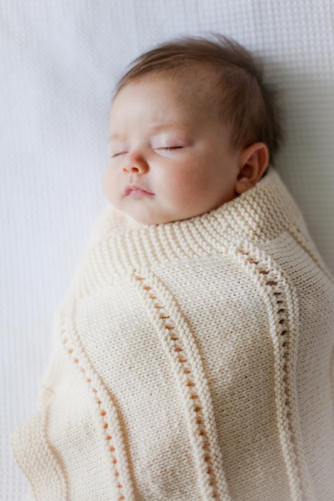 Peekaboo Blanket by Brenda Green