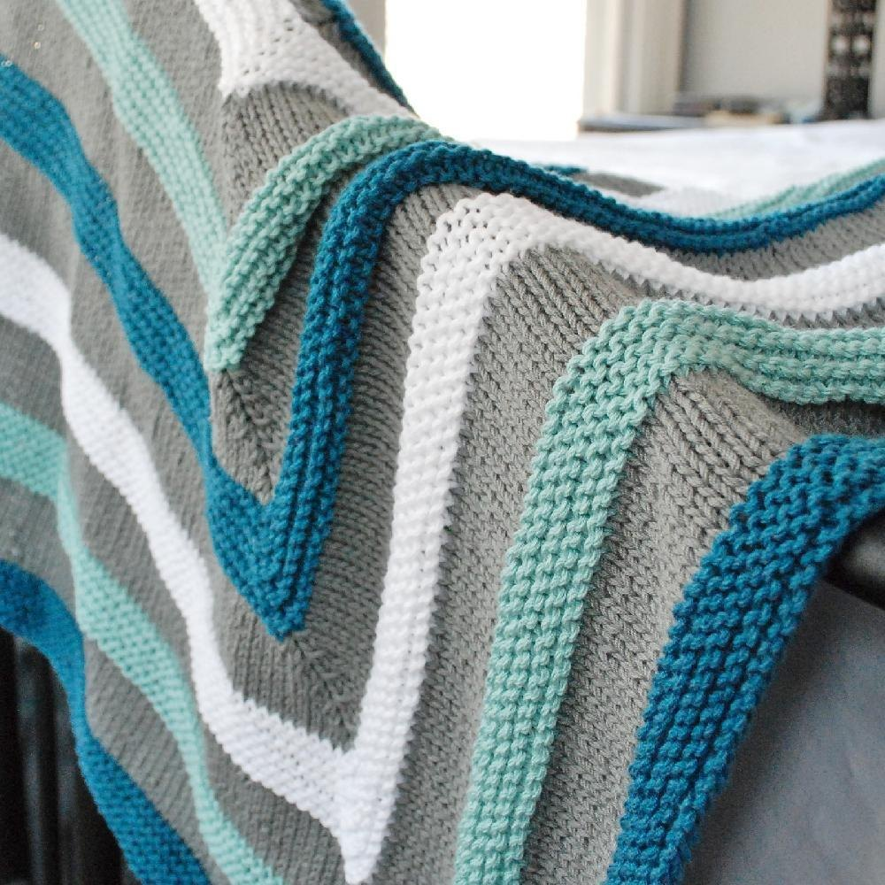 Playful Stripes by Stacked Woolens
