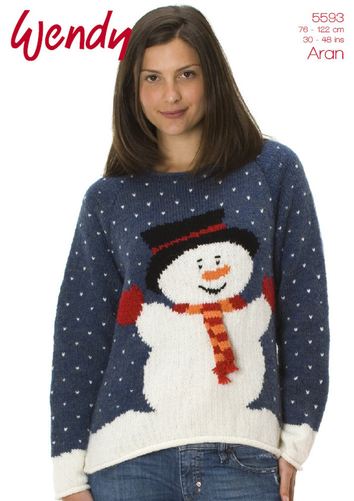 10 Festive Christmas Jumpers Loveknitting