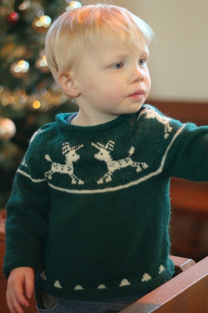Junior Christmas jumper