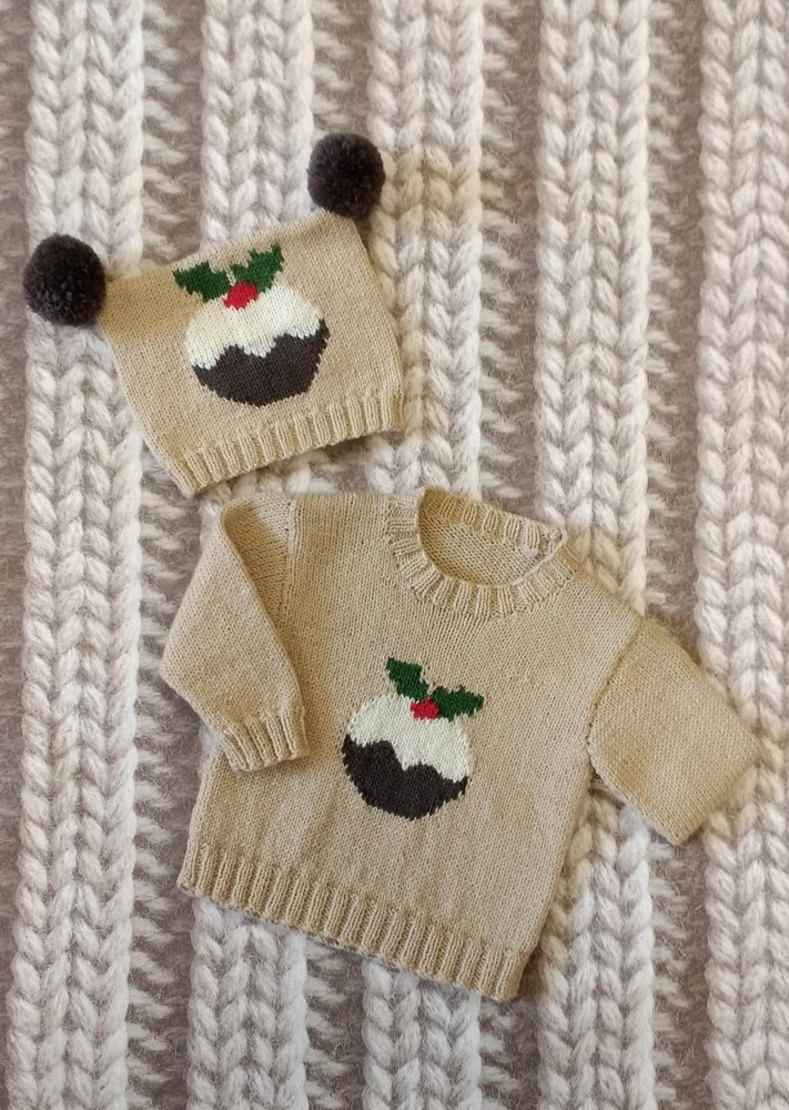 My little pudding children's jumper and hat
